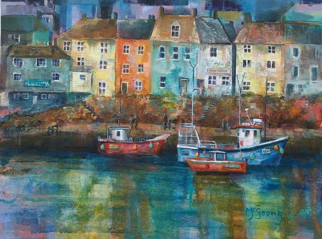 Eileen Mcgeown 'Quayside'