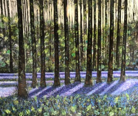 Paula Crosskey 'Bluebell Wood'
