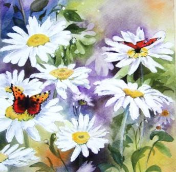 Ruth Lewis 'Daisies & Butterflies'