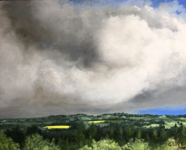 Clive Roberts 'Passing storm at Beaucour'