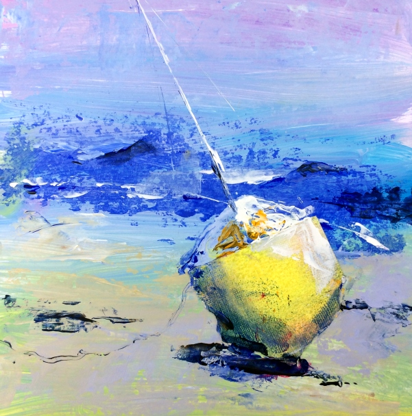 Gill Evans 'yellow boat'