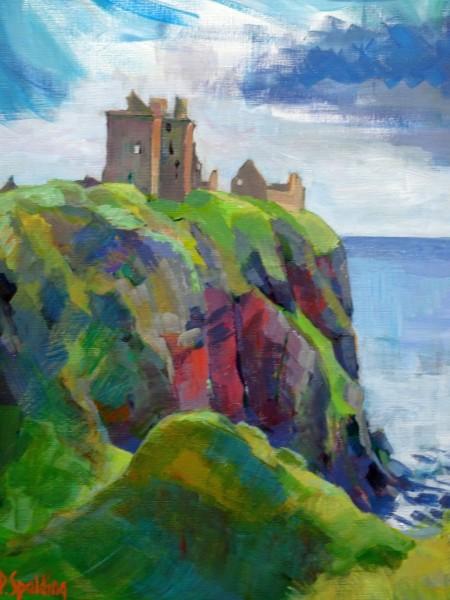 Peter Spalding 'Dunnottar Castle'