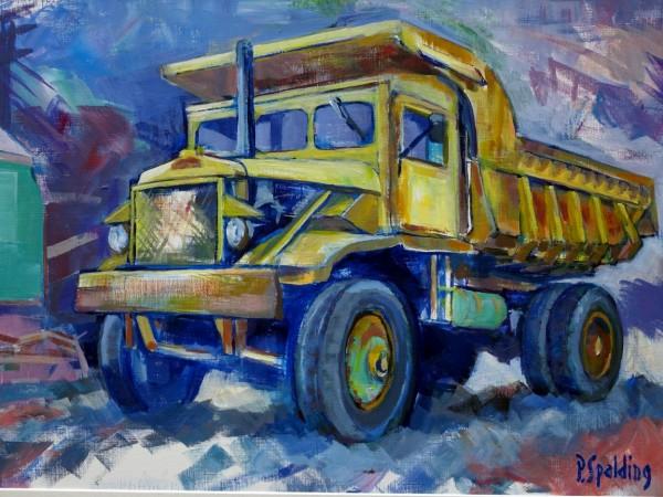 Peter Spalding 'Euclid Tipper Truck'