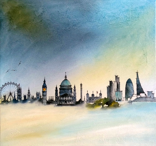 Ron Moody 'London Skyline #3'